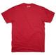 Kappa Alpha Psi Fraternity Crest Shirt-Crimson-Back