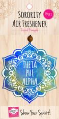 Theta Phi Alpha Sorority Mandala Air Freshener