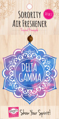 Delta Gamma Sorority Mandala Air Freshener