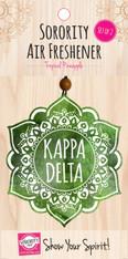 Kappa Delta Sorority Mandala Air Freshener
