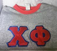 Chi Phi Fraternity Ringer T-shirt