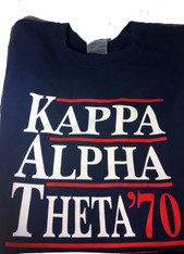 Kappa Alpha Theta Sorority Political Shirt