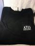 Alpha Tau Omega Fraternity Comfort Colors Shirt- Black-Front
