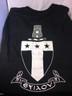 Alpha Tau Omega Fraternity Comfort Colors Shirt- Black-Back
