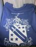 Phi Delta Theta Fraternity Comfort Colors Shirt-Blue-Back