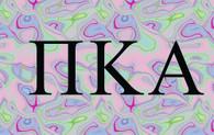 Pi Kappa Alpha PIKE Fraternity Flag- Black Light