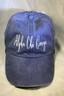 Alpha Chi Omega Sorority Script Hat- Purple