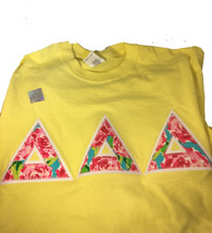Shirt Inspiration Pale Yellow Double Stitched Letter Shirt – Floral