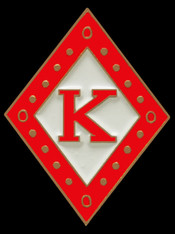 Kappa Alpha Psi Fraternity Diamond Lapel Pin