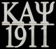 Kappa Alpha Psi Fraternity Chapter Bar Lapel Pin-Silver