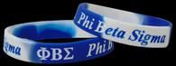 Phi Beta Sigma Fraternity Silicone Bracelet
