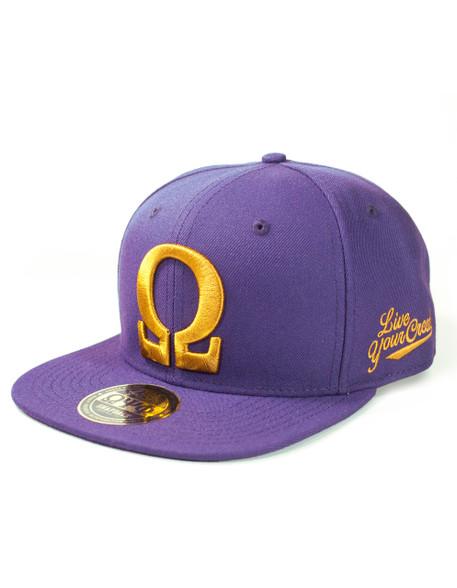 Omega Psi Phi Fraternity Snapback Hat