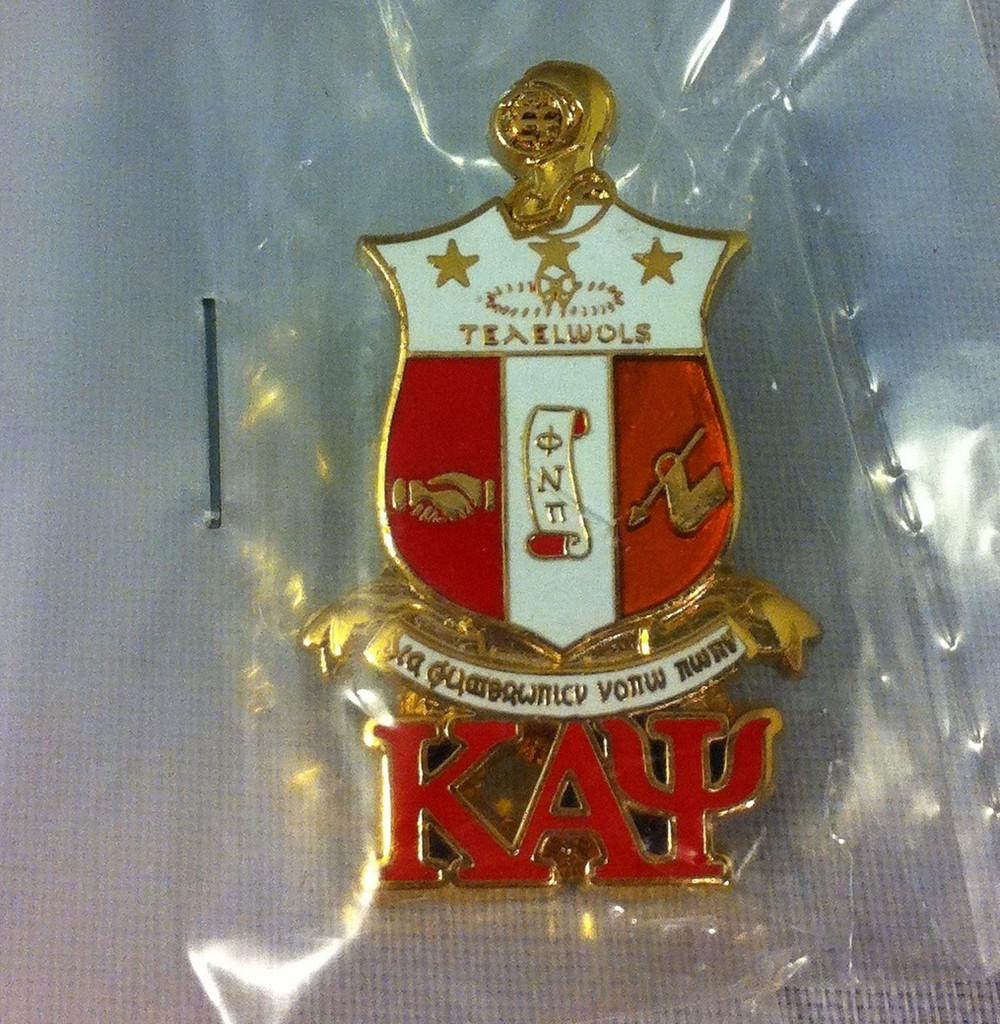 New! Kappa Alpha Psi Fraternity Dry Fit Crew Socks