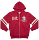 Kappa Alpha Psi Fraternity Zip-Up Hoodie- Front