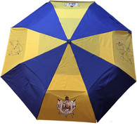 Sigma Gamma Rho Sorority Auto Open Folding Umbrella