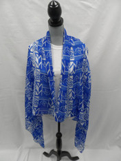 Zeta Phi Beta Sorority Convertible Shawl