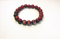 Kappa Alpha Psi Fraternity Beaded Bracelet