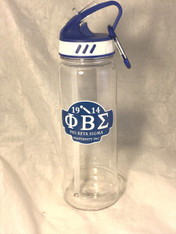 Phi Beta Sigma Fraternity Water Bottle