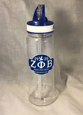 Zeta Phi Beta Sorority Water Bottle