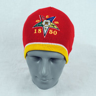 Order of the Eastern Star OES Beanie- Red