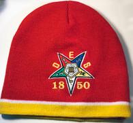 Beanie Cap wPomPom Order of The Eastern Star