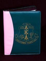 Alpha Kappa Alpha AKA Sorority Padfolio