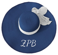 Zeta Phi Beta Sorority Floppy Hat- Blue