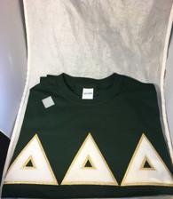 Shirt Inspiration Hunter Green Double Stitched Letter Shirt – White Seersucker