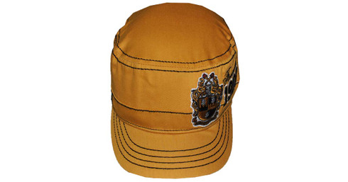 Alpha Phi Alpha Fraternity Captain's Hat-Founding Year-Gold