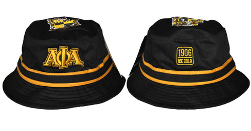 Alpha Phi Alpha Fraternity Crest Bucket Hat