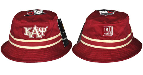 Kappa Alpha Psi Fraternity Crest Bucket Hat