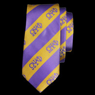 Omega Psi Phi Fraternity Three Greek Letters Neck Tie