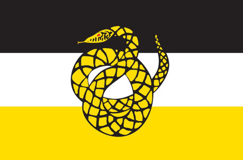 Sigma Nu Fraternity Flag- Symbol