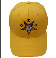Order of the Eastern OES Hat-Yellow