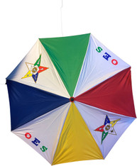 Order of the Eastern Star OES Reversible Umbrella