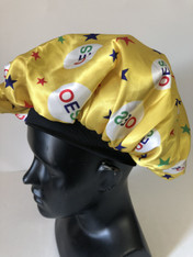 Order of the Eastern Star OES Sleep Bonnet Cap-Yellow