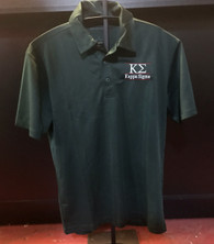 Kappa Sigma Fraternity Dri-Fit Polo- Green