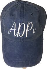 Alpha Delta Pi Sorority Hat- Royal