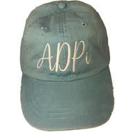 Alpha Delta Pi Sorority Hat- Baby Blue
