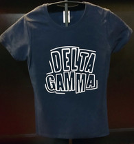 Delta Gamma Sorority Shirt- English Spelling