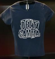 Delta Gamma Sorority Shirt- English Spelling