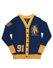 North Carolina A&T State University Lightweight Cardigan- Style 2