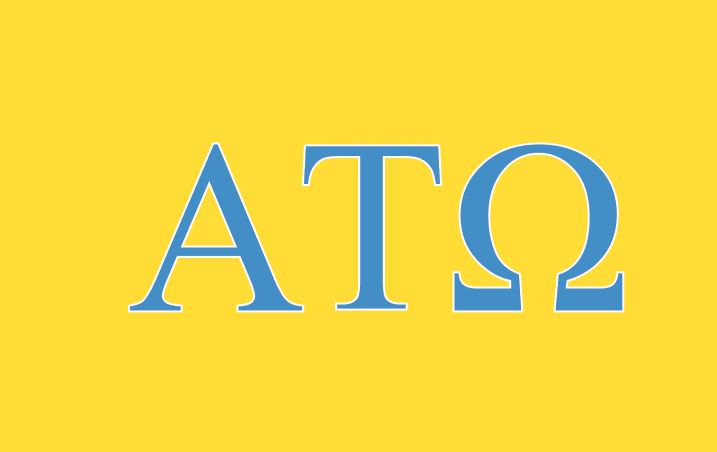 Alpha Tau Omega ATO Fraternity Flag- Yellow - Brothers and ...