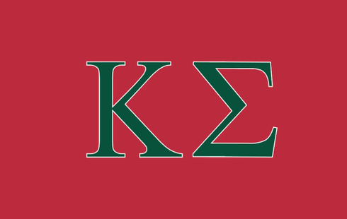 Kappa Sigma Fraternity Flag- Red
