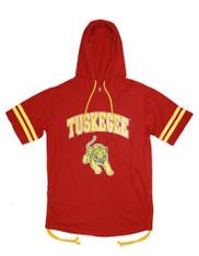 Tuskegee University Hoodie Shirt- Ladies