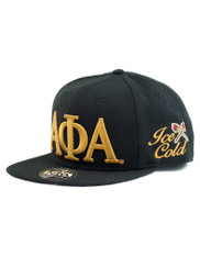 Alpha Phi Alpha Fraternity SnapBack Hat- Three Greek Letters