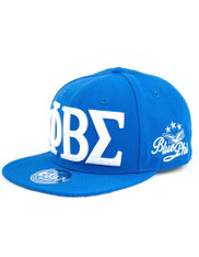 Phi Beta Sigma Fraternity SnapBack Hat- Three Greek Letters