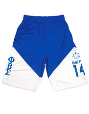 Phi Beta Sigma Fraternity Basketball Shorts