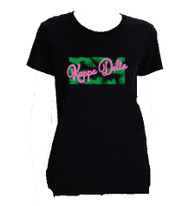 Kappa Delta Sorority Shirt- Palm Shirt