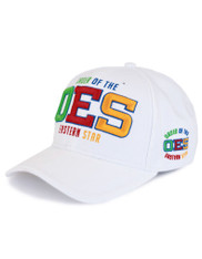 Order of the Eastern Star OES Hat- White